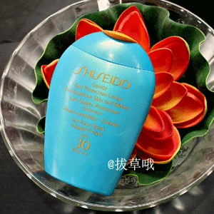 Shiseido资生堂 艳阳夏 柔和防晒露 spf30 100ml