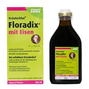 Salus Floradix铁元补铁补血营养液 500ml 两瓶装*2件