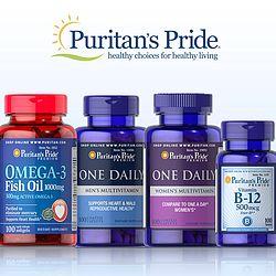 Puritan's Pride普瑞登自营品牌买1送2+额外9折
