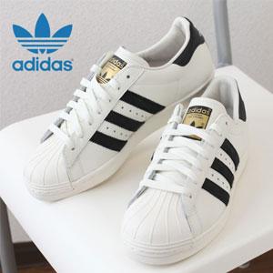 adidas阿迪达斯superstar贝壳小白鞋 大童款金标