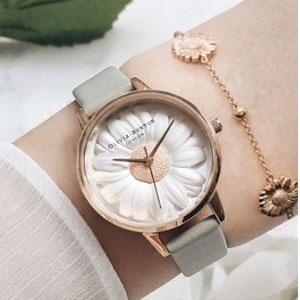 Olivia Burton 小雏菊限定款女士手表