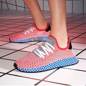 adidas Originals 阿迪达斯三叶草 Deerupt 大童款运动鞋