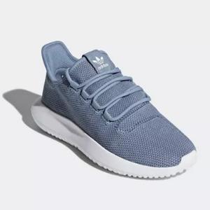 adidas Tubular Shadow大童款运动鞋 湖蓝色