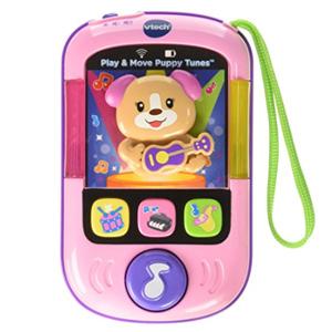 新品!VTech伟易达 音乐益智手机 粉色小狗款