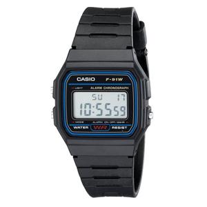 Casio 卡西欧 F91W-1 男款数字腕表