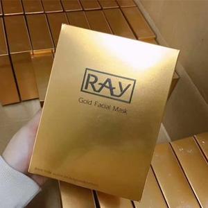 RAY 蚕丝面膜 金色款 10片*3盒装*2件