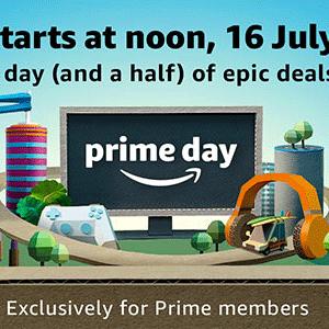 欧洲亚马逊2018 Prime Day会员日专题上线