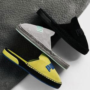 Fenty 最新时尚麂皮渔夫鞋Espadrille