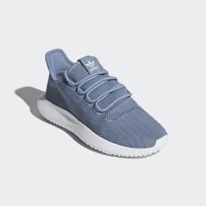 Big 3.5码补货!Adidas Tubular Shadow蓝色小椰子大童款