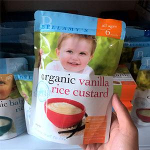 Bellamy's贝拉米 婴幼儿有机米粉 125g 4个月+/6个月+两款可选