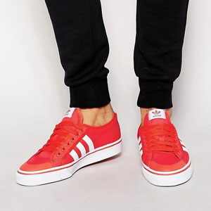 Adidas阿迪达斯 Originals Nizza 男士复古运动鞋
