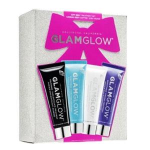 【售空】GLAM GLOW 发光面膜4件套