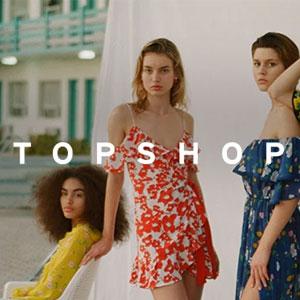 Topshop英国站折扣区服饰鞋包低至3折+额外8折促销