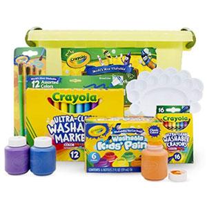 Crayola绘儿乐 水彩笔颜料蜡笔套组