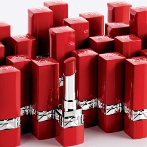 补货!Dior迪奥 红管半哑光唇膏 641、436色