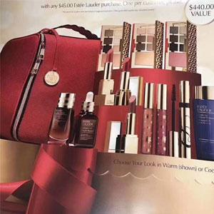 四季度北美市场Estee Lauder雅诗兰黛买一送一和圣诞套装活动爆料