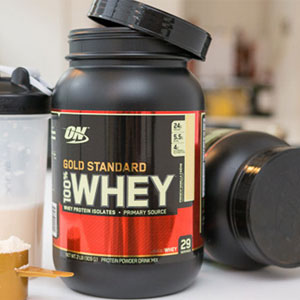 Optimum Nutrition 乳清蛋白增肌粉 2.27kg(5磅)巧克力味