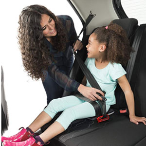 mifold Grab-and-Go 便携式大童安全座椅 黑色
