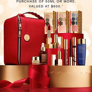 Estee Lauder 2018圣诞大礼包全球上架在即