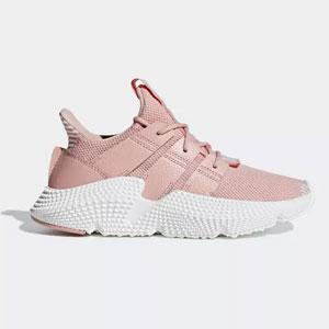 补码!adidas 阿迪达斯 三叶草 PROPHERE大童款休闲鞋粉色款