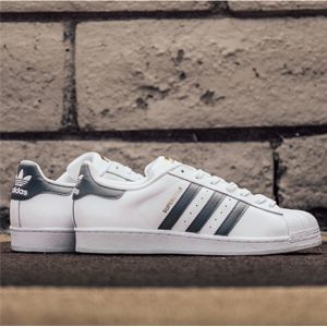 Adidas阿迪达斯Superstar 男士金标贝壳头