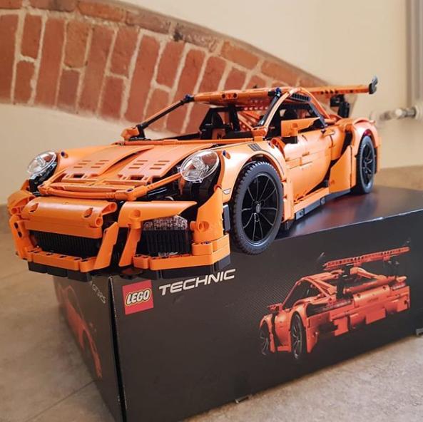 新低!LEGO乐高 Technic 42056 保时捷 911 GT3 RS