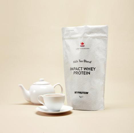 Myprotein限量版奶茶口味 IMPACT 乳清蛋白粉
