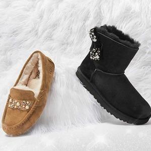 UGG Australia现有雪地靴、毛毛拖等低至5折促销