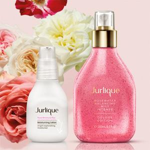 Jurlique茱莉蔻限量版玫瑰补水套装