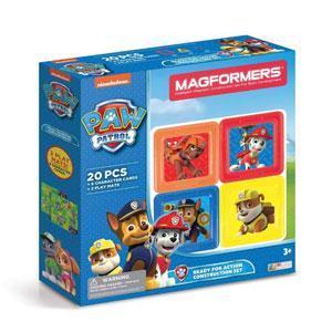 Magformers麦格弗 狗狗巡逻队 磁性积木玩具  20件装