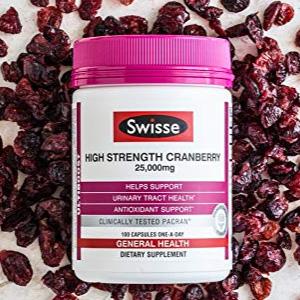 Swisse 蔓越莓精华胶囊 100粒
