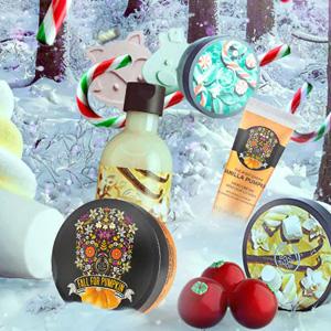 The Body Shop官网精选圣诞护肤品5折促销