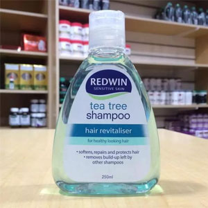 Redwin 茶树防脱控油洗发水 2瓶