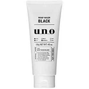 UNO吾诺 男士 黑色祛痘控油洁面活性炭洁面乳130g
