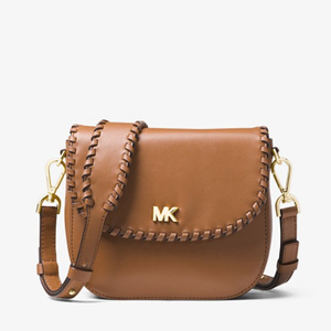 Michael Kors Whipstitched系列真皮马鞍包