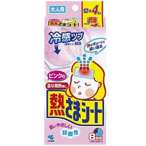 KOBAYASHI小林制药 成人用退热贴 16片