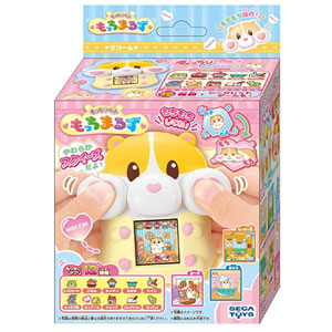 新品 SEGA TOYS 减压软萌仓鼠机彩屏宠物机玩具