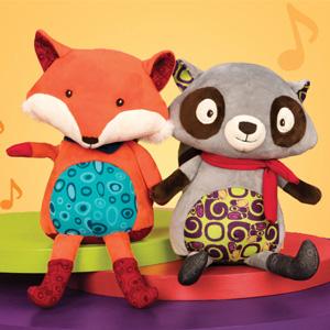 0点!B.toys 会说话的小狐狸 *2件