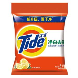 汰渍 净白去渍洗衣粉(柠檬清香)5kg