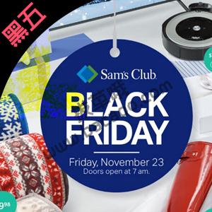 Sam's Club 2019 Black Friday黑五促销海报出炉