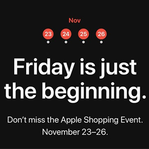 Apple美国官网2018黑五Shopping Event出炉