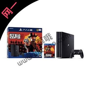 PS4 Pro 1TB《荒野大镖客2》同捆版 游戏支持中文