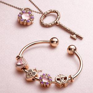 PANDORA Jewelry美国官网全场饰品满$125送限量款手镯