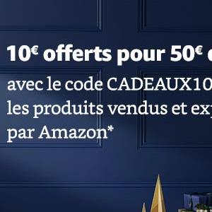 法国亚马逊全场自营满50欧立减10欧