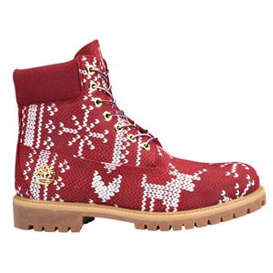 骚气十足! Timberland Ugly男士6寸靴 圣诞限量款