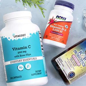 Vitacost营养保健品、维生素补充剂等无门槛额外8折促销