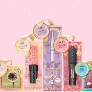 Benefit Cosmetics官网精选mini美妆8折促销