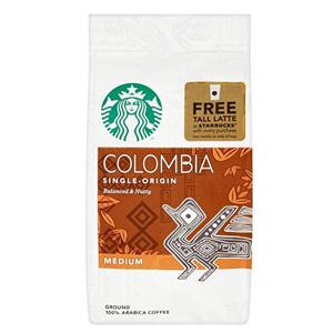 Starbucks星巴克 哥伦比亚咖啡粉 200g*6包