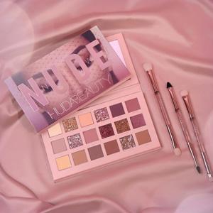 【更新】Huda Beauty新品Nude裸妆18色眼影盘