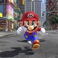 Nintendo 任天堂 Switch 红蓝手柄+奥德赛+明星大乱斗+手柄